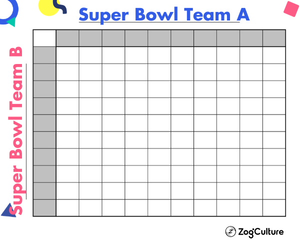 Charity Super Bowl Squares