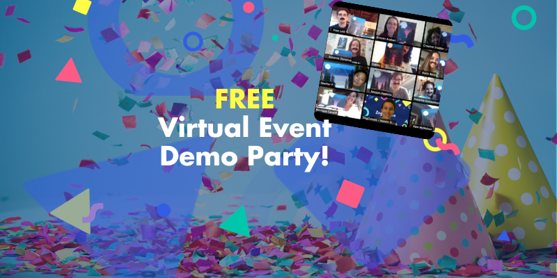 What's a Virtual Event Like? See for yourself at our FREE demo!